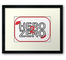 Hero2Zero Films  Framed Print