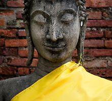 Yellow Buddha by Walter Quirtmair