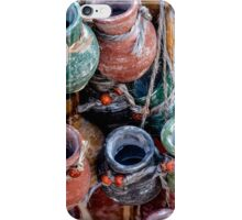 Pottery in Street Market iPhone Case/Skin