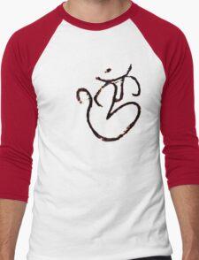 Graffiti Om Men's Baseball ¾ T-Shirt