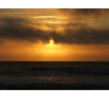 Sunset on South Beach Photographic Print