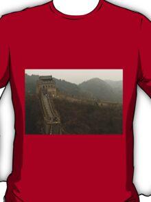 The Great Wall Of China At Badaling - 4 © T-Shirt