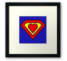 Super love Framed Print