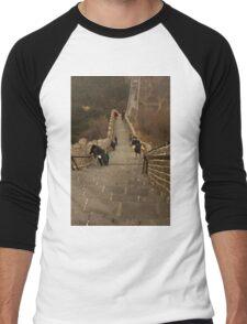 The Great Wall Of China At Badaling - 5 - The Insanity © Men's Baseball ¾ T-Shirt