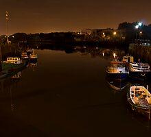 Quiet Night on The Tyne by KevM