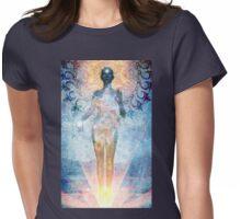 Black Tara Womens Fitted T-Shirt