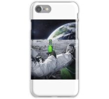 astronauts drinking in space iPhone Case/Skin