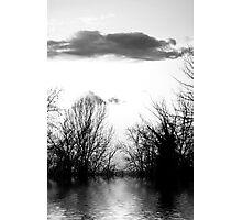 magic lake Photographic Print