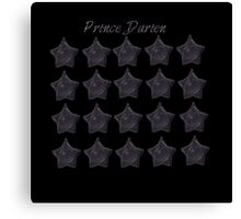 Prince Darien. Tuxedo Mask, sailor moon Black star locket Canvas Print