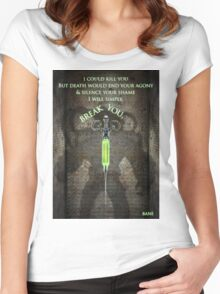 Gotham Rogues Bane  Women's Fitted Scoop T-Shirt