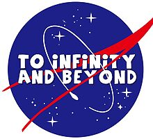 To infinity and beyond! by Marialeones