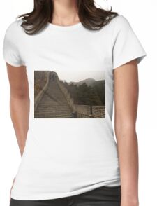 The Great Wall Of China At Badaling - 6 © Womens Fitted T-Shirt