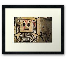 Robot? Framed Print