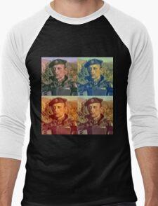 Remove Kebab Pop Art Men's Baseball ¾ T-Shirt