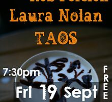 Jar of CoRn & Rob Persian, Laura Nolan and TAOS Poster by Erland Howden