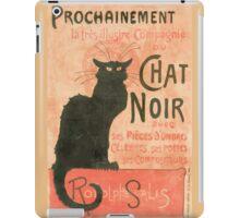 Le chat noir Manifesto iPad Case/Skin