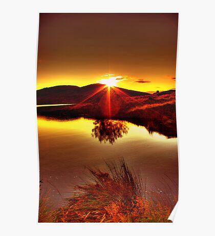 My Anniversary Sunset Poster