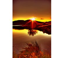 My Anniversary Sunset Photographic Print