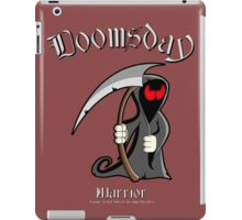 DOOMSDAY WARRIOR...prepping for the Apocalypse! iPad Case/Skin