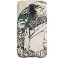 The Crow Man print Samsung Galaxy Case/Skin