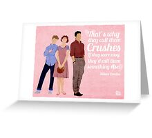 Sixteen Candles Quote Greeting Card