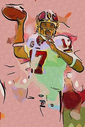 Jason Campbell in Action by tmn67