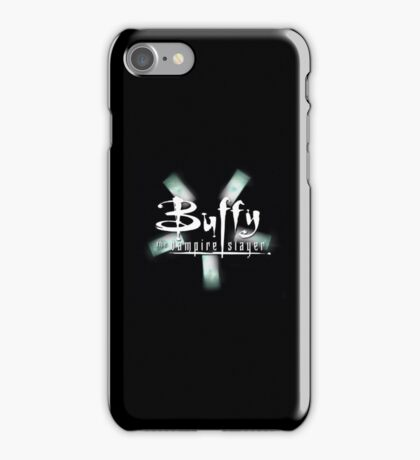 Buffy the Vampire Slayer and Dollhouse mashup iPhone Case/Skin