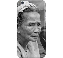 Wrinkles Of Age iPhone Case/Skin