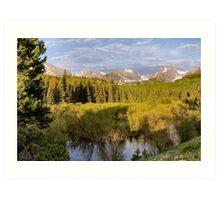 Rocky Mountain Morning Art Print