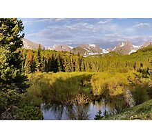 Rocky Mountain Morning Photographic Print