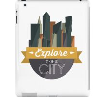 City Explorer iPad Case/Skin