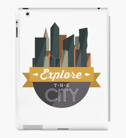 City Explorer iPad Case/Skin
