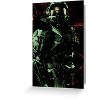 Master Chief (halo) Greeting Card