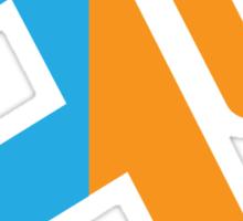 Teleporting Stickman (Portal) Sticker
