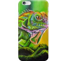 The Rainbow Lizard iPhone Case/Skin