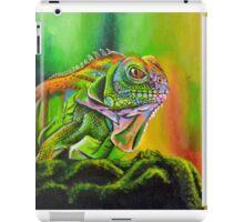 The Rainbow Lizard iPad Case/Skin