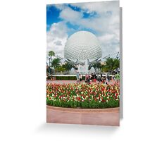 Epcot in Spring Greeting Card