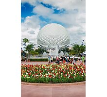 Epcot in Spring Photographic Print