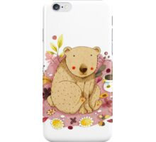 Bear with Honey-Pot iPhone Case/Skin