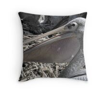 Pelican Pouch 1 Throw Pillow