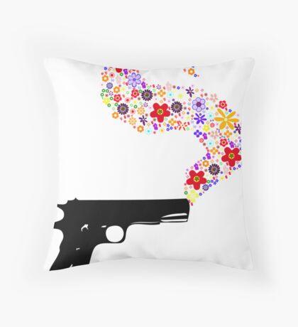 The Smoking Gun Throw Pillow