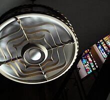 Stained glass trumps incandecent... by Steve Mezardjian