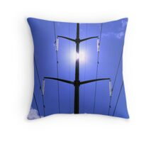The Kingdom of Man. Throw Pillow