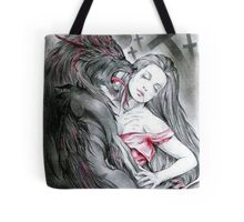Wolf in hell Tote Bag