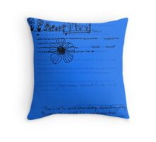 Rat a Tat Throw Pillow