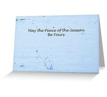 Stark Flowers with Greeting Greeting Card