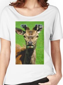 Fearless Deer Women's Relaxed Fit T-Shirt