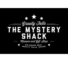 Gravity Falls - The Mystery Shack Photographic Print