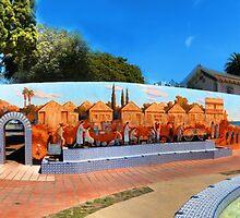 Ventura Figueroa Plaza by Henrik Lehnerer