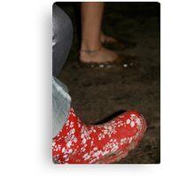 Festival Feet Canvas Print